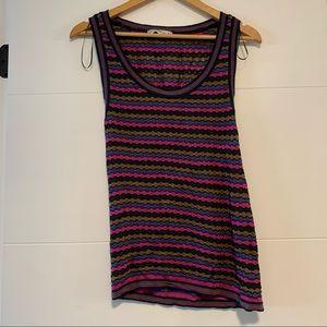 Zara | Bright Striped Tank Top
